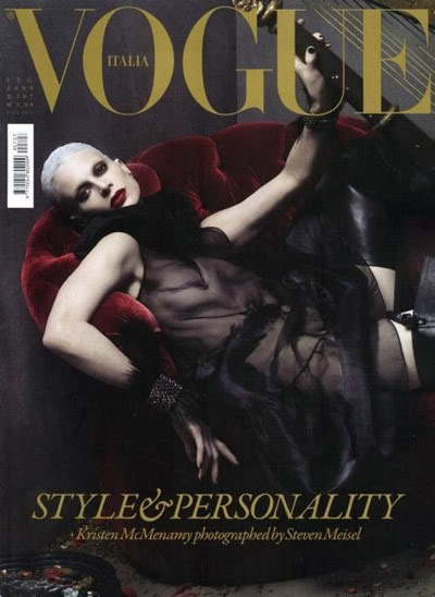 Vogue Italia July 2009 Cover by Steven Meisel