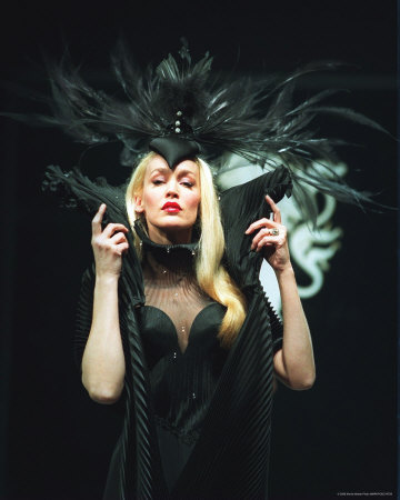 1. Move over Beyonce. This woman knows how to wear Mugler.