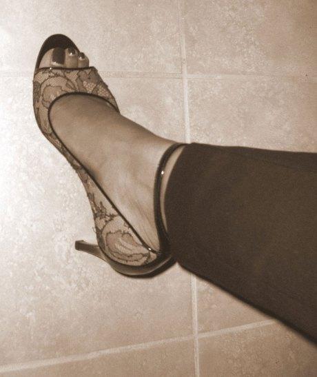Alaia heels - better than baked goods