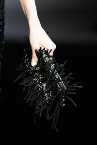 Spiky clutch at Armani Prive FW09