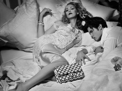 Jerry Hall by Karl Lagerfeld for Chanel 09