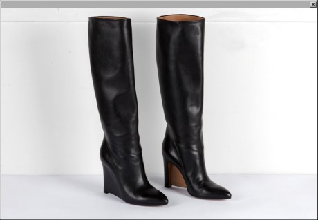 Maison Martin Margiela FW09 Tall Wedge Boots on Exshoesme.com
