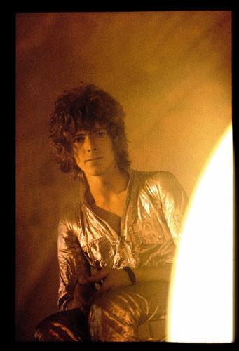 David Bowie, 1969. Photo by David Bebbington, Retna Pictures.