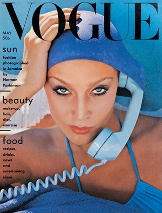 4. Vogue, May 1975 by Norman Parkinson