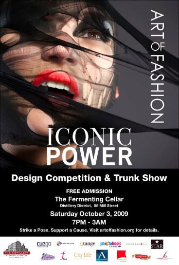 Art of Fashion '09 Iconic Power Design Competition & Market