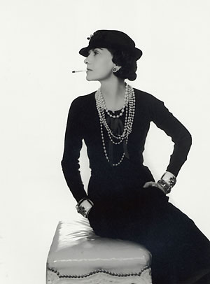 Coco Chanel, as captured by Man Ray