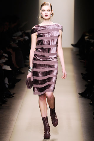 Slinky and striped at Bottega, FW09