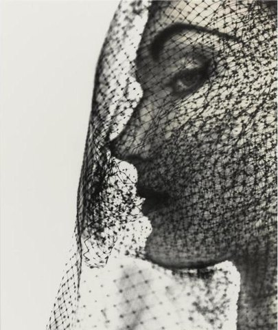 Veiled Face by Penn, 1949