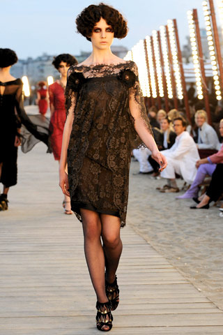 Chanel Resort 2010 lace dress on Exshoesme.com