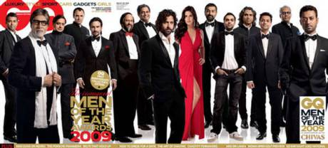 GQ India's Oct 09 inaugural Men of the Year issue