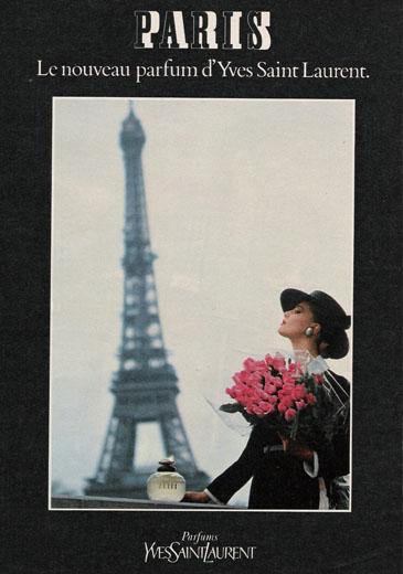 Paris Perfume ad, 1980s