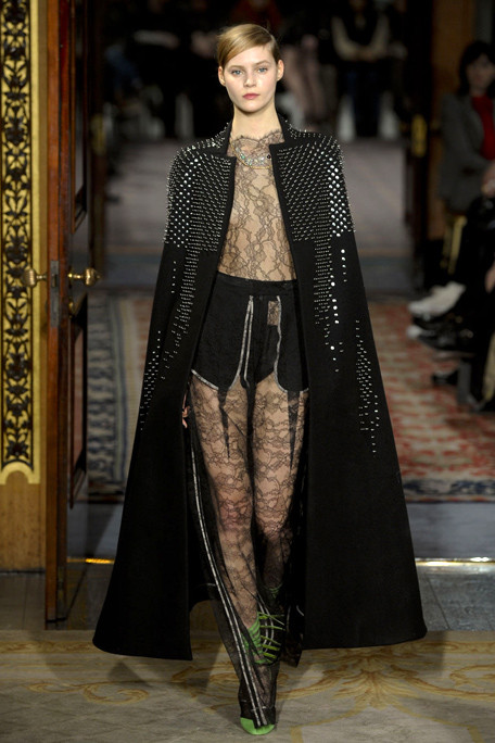 Antonio Berardi FW11 Studded Cape on exshoesme.com