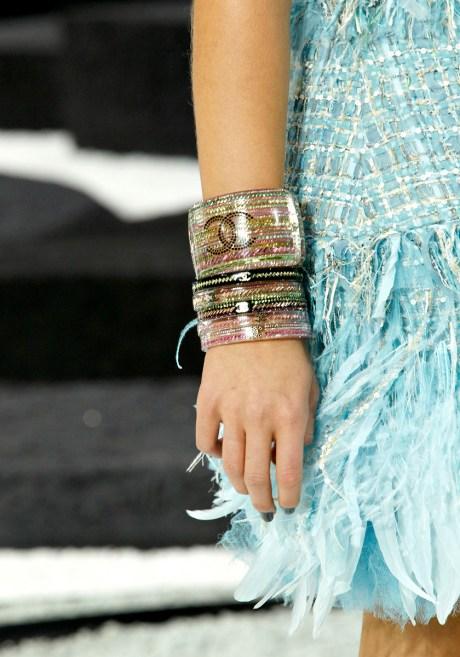 Chanel SS11 Colourful Cuff Bracelets on exshoesme.com