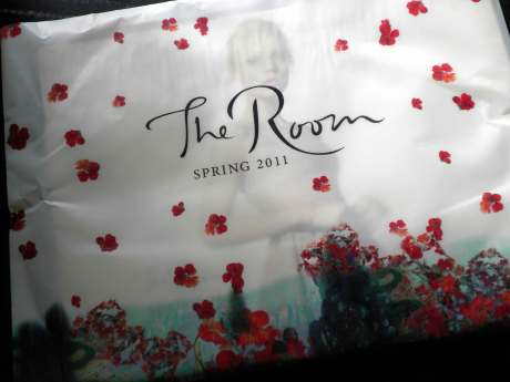 The Room mailer March 2011 on exshoesme.com