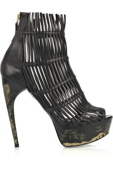 McQueen cage heels on exshoesme.com