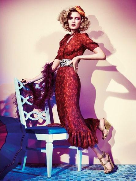 March 2011 Vogue Germany 6 on exshoesme.com