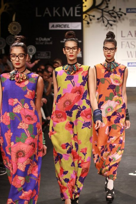 Sabyasachi Floral Prints Summer Resort 2011 on exshoesme.com