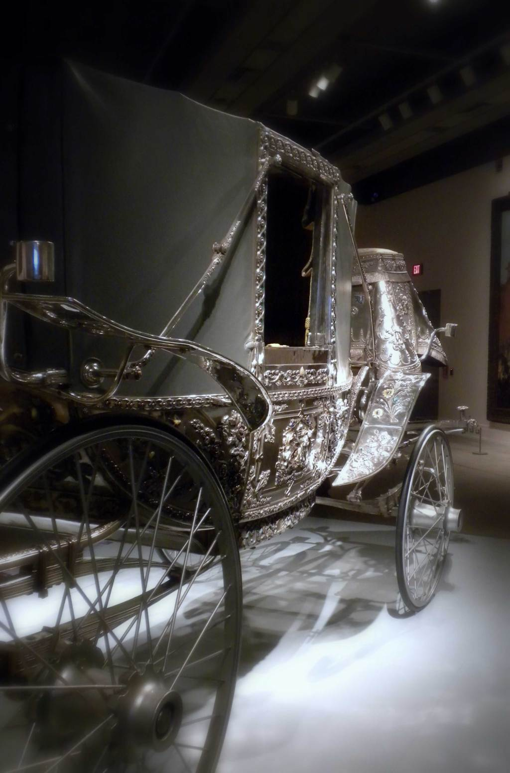 Silver Carriage of the maharajas on exshoesme.com. Photo by Jyotika Malhotra.
