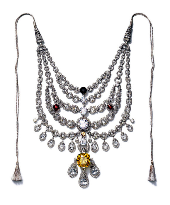 The Patiala Necklace on exshoesme.com