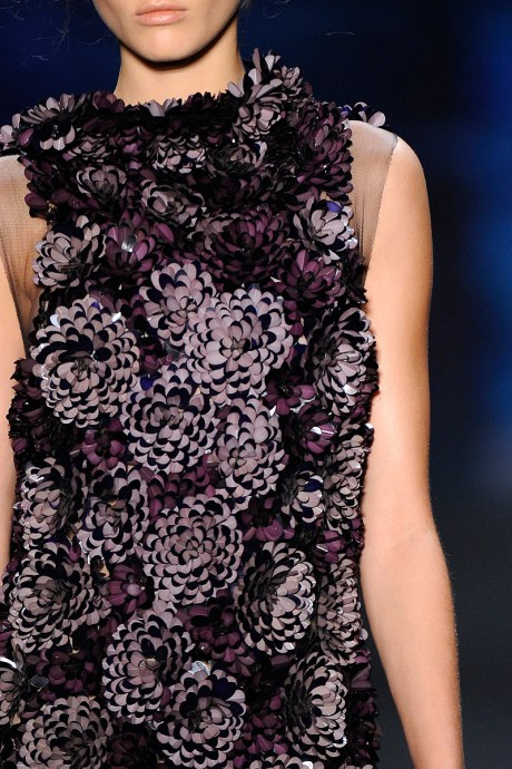 Vera Wang SS11 3-D Flowers on exshoesme.com