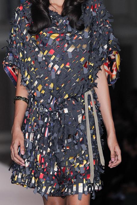 Vivienne Westwood Red Label SS11 Shredded Dress on exshoeseme.com