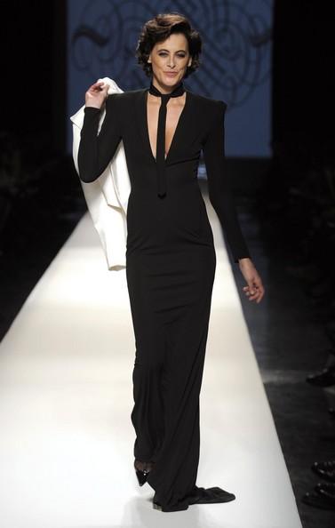 2009 Jean Paul Gautier Couture Ines de la Fressange on exshoesme.com