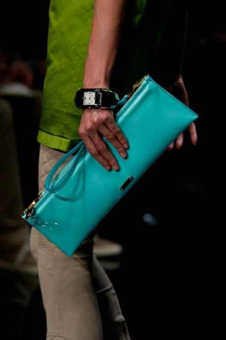 Burberry Brights Aqua Clutch SS11 on exshoesme.com