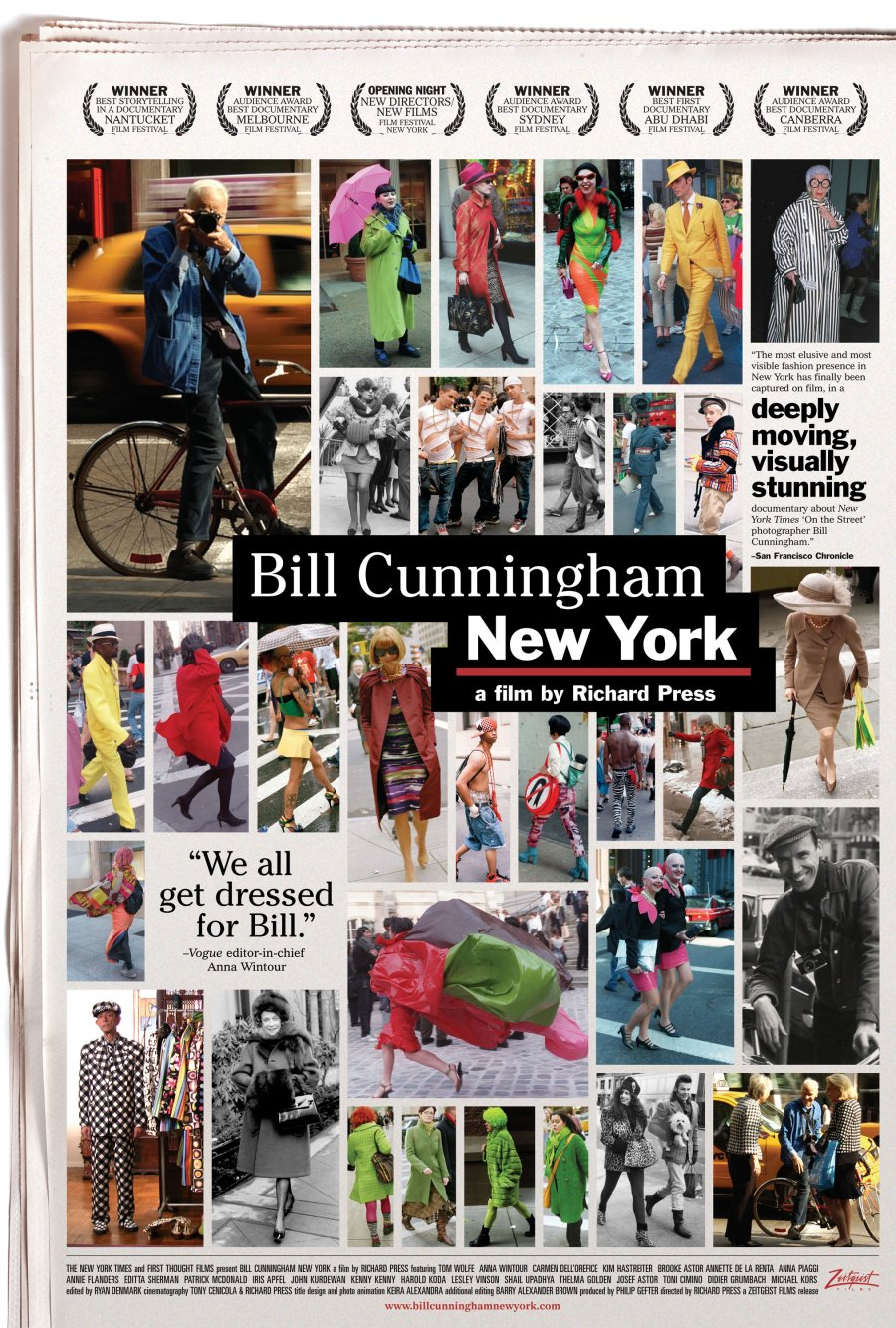 Bill Cunningham New York Poster on exshoesme.com