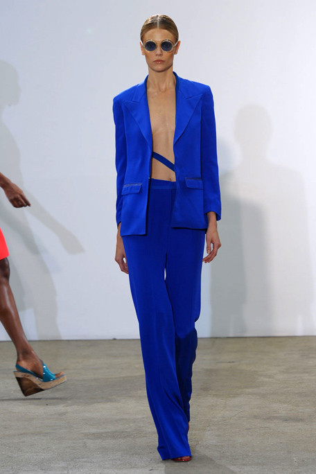 Costume National SS11 Electric Blue Suit on exshoesme.com