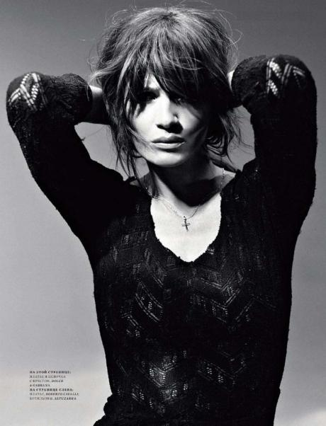 Helena Christensen for Harper's Bazaar Russia May 2011 by Luis Sanchis on exshoesme.com 7