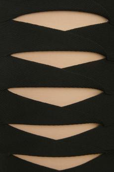 Herve Leger by Max Azria Monique Cutout Bandage Dress Detail on exshoesme.com