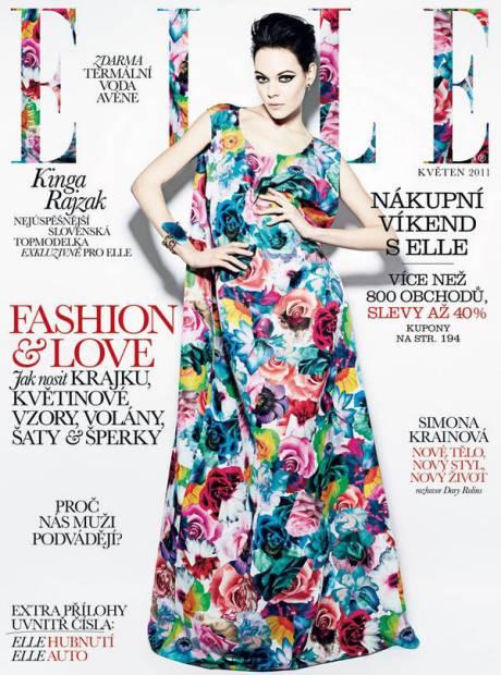 Kinga Rajzak for Elle Czech May 2011 on exshoesme.com