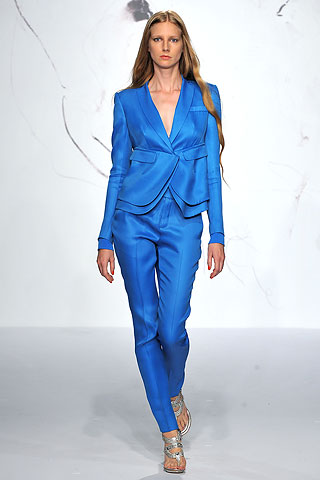 Rachel Roy SS10 Blue Suit on exshoesme.com