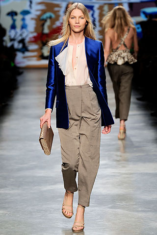Stella McCartney SS10 Electric Blue Jacket on exshoesme.com