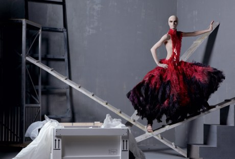 Vogue May 2011 Steven Meisel Alexander the Great from Voss, Spring 2001 on exshoesme.com