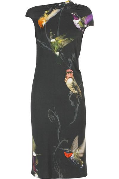 Alexander McQueen Hummingbird Dress on exshoesme.com