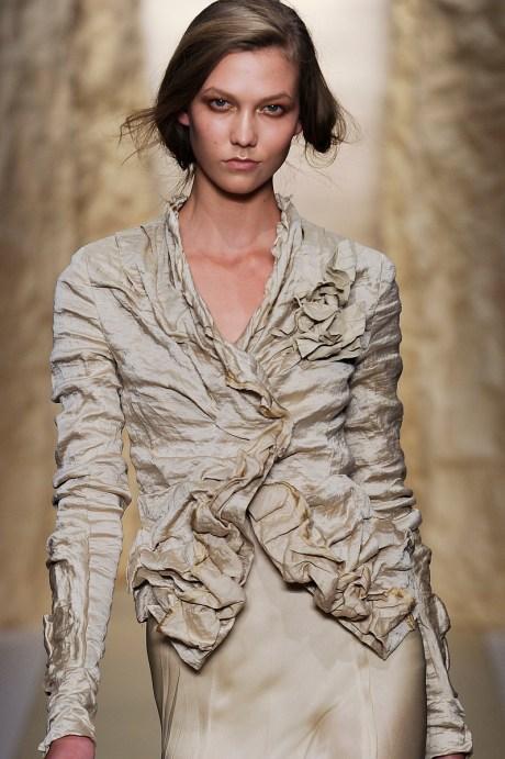Donna Karan SS11 Ruched Jacket on exshoesme.com
