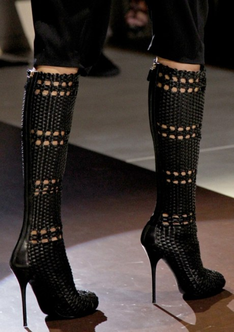 Gucci Wicker Boots SS11 on exshoesme.com