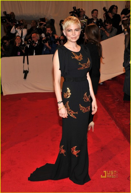 Michelle Williams at The Met Ball 2011 on exshoesme.com