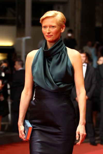 Tilda Swinton at the 2011 Cannes Film Festival on exshoesme.com. Photo by Andreas Rentz-Getty Images Europe.