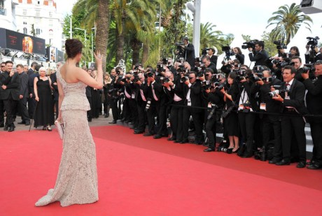 Aishwarya Rain in Elie Saab at the 2011 Cannes Film Festival on exshoesme.com. Photo by Pascal Le Segretain-Getty Images Europe.