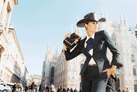 Yasmin Le Bon for Moschino SS11 Ad Campaign by Juergen Teller 3 on exshoesme.com