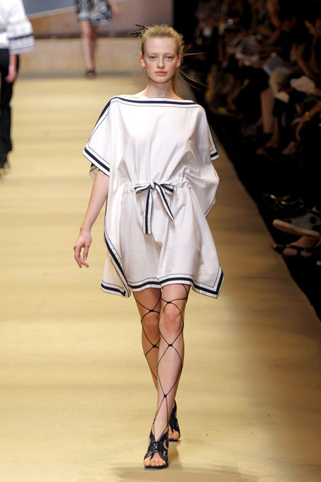 Alexis Mabille SS11 Grecian Tunic Dress on exshoesme.com