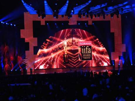 IIFA Awards Stage. Photo by Jyotika Malhotra on exshoesme.com.