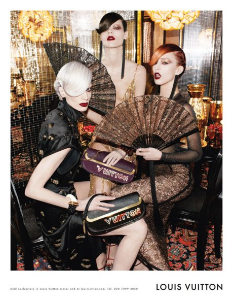 Louis Vuitton SS11 Ad Campaign on exshoesme.com