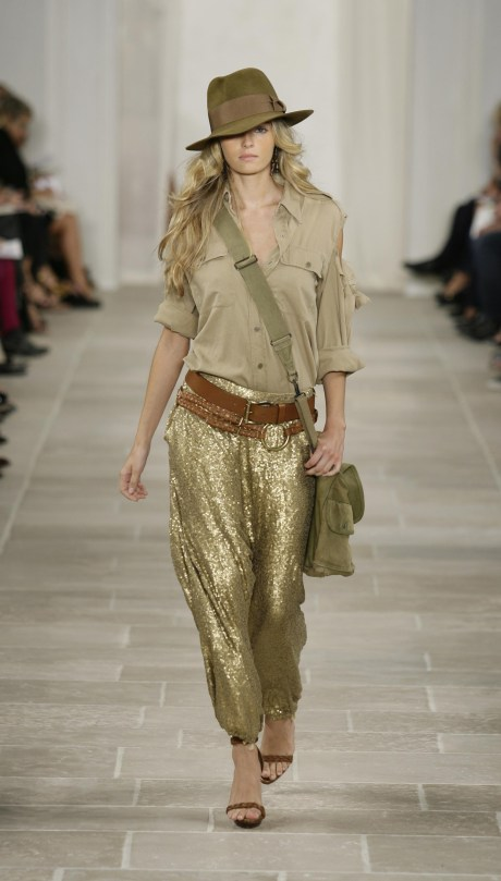 Ralph Lauren SS09 Gold Harem Pants on exshoesme.com