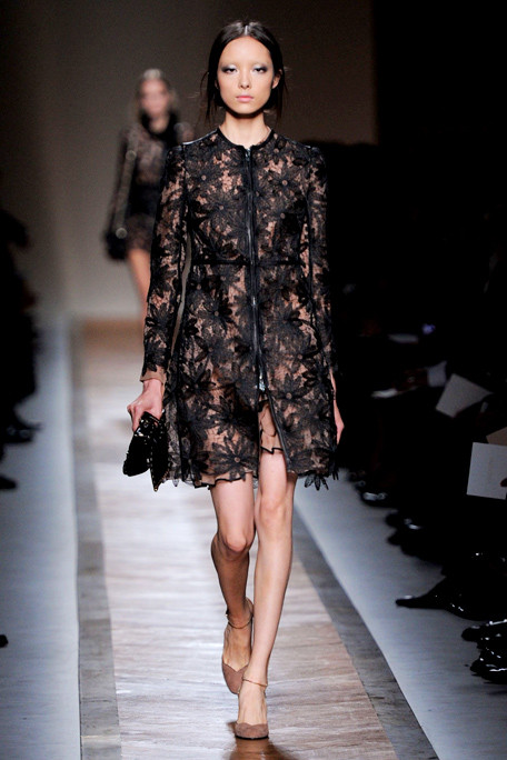 Valentino SS11 Lacy Gentle Goth on exshoesme.com