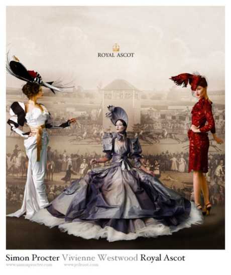 Vivienne Westwood for Royal Ascot Campaign on exshoesme.com