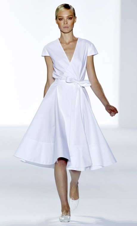 Chloe SS11 White Belted Dress on exshoesme.com