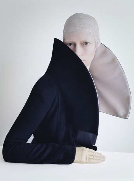 Tilda Swinton by Tim Walker W Mag Aug 2011 1 on exshoesme.com